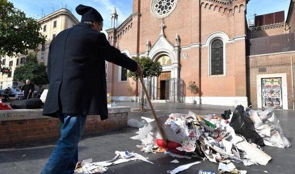 Roma è una città stremata, superata la soglia del brutto