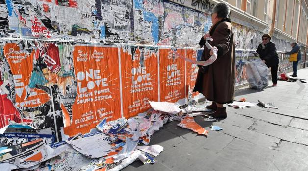 San Lorenzo: i residenti dicono «basta al degrado»