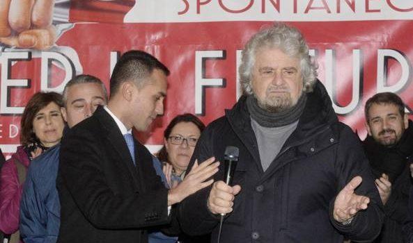 M5S, lo show di Grillo per Di Maio nella terra del candidato premier