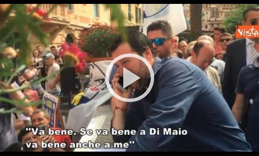 Governo, Salvini rilancia: «Farò una squadra più forte»